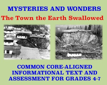 Mysteries and Wonders Passage and Assessment #4: The Town