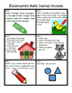 CC Aligned Kindergarten Math Journal Prompts (ALL Year): Covers ALL Standards