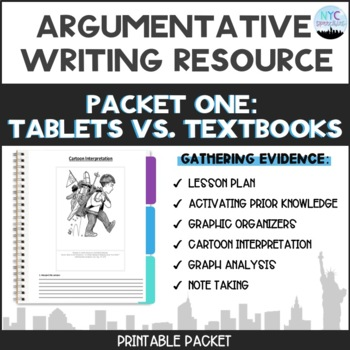 CC Argumentative Essay Packet #1: Gathering Information to Support a Claim