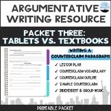 CC Argumentative Essay Packet #3: Writing a Counterclaim Paragraph
