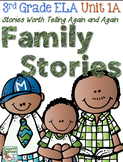 Third Grade Reading, Language, Writing Unit 1A, The Storie