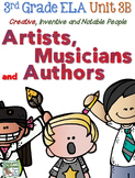 Third Grade Reading, Language, Writing- Unit 3B, Creative People