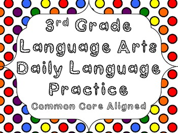 C.C. Daily Language Review-3rd Grade
