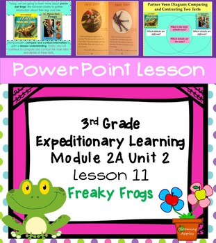 Engage NY Expeditionary Learning 3rd grade Module 2A Unit 2 Lesson 11 PowerPoint