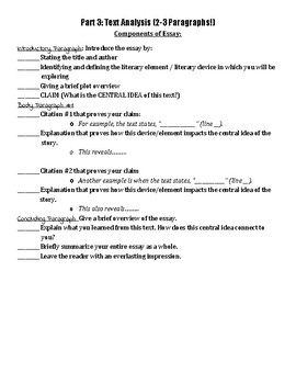 CC English Regents Review Packet/Study Guide