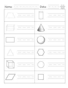 CC Geometry Assessment G.1