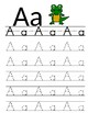 CC.L.K.1.A I can Write My ABC's, Kindergarten Alphabet Trace and Poster