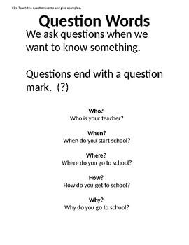 CC.L.K.1.D Question Words