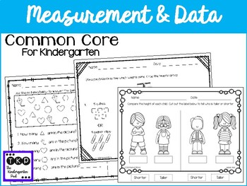 CC Math Assessments - Measurement and Data
