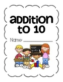 CC Math Unit: Introduction to Addition