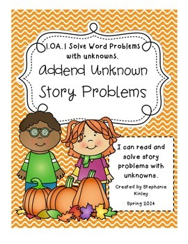 CC - Math Word Problems - August, September, and October Bundle