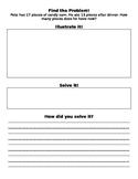CC Math Worksheet Addition/Subtraction based!