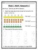 CC Q1 Differentiated Math Homework