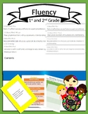 CC.RF.1.4 First and second grade Reading Fluency Centers and Assessment
