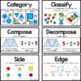 CC Vocab Cards - 1st Grade - Math - Geometry