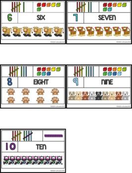 CC Vocab Cards - 1st Grade - Math - Number Words 0-10