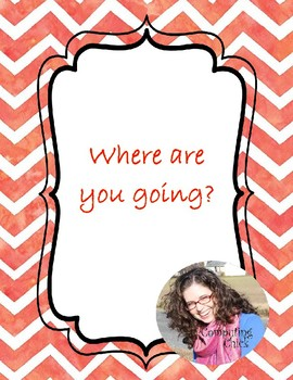 CC - Where Are You Going?  Sign In / Out Form