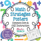 CC and CGI Math Strategies Posters