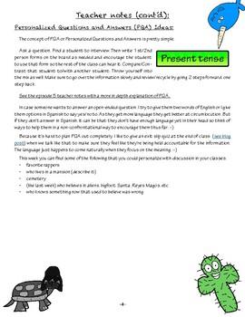 Cuentas Conmigo - el robo del sombrero - episode 6 - Teacher Notes