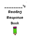 CCC Making Meaning 1st Grade reading response book