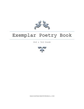 CCCS Appendix B - Exemplar Poetry, 2nd, 3rd