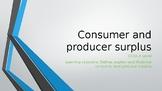 CCEA A Level Economics Consumer Surplus and Producer Surplus PPTs 24 Slides