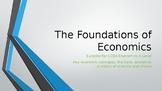 CCEA A Level Economics Key Economic Concepts, Specialisation, PPF, PPC