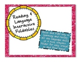 5th Grade Reading and Language Interactive Notebook Foldables