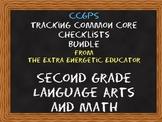 CCGPS Bundle: Tracking Common Core 2nd Grade Language Arts