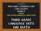 CCGPS Bundle: Tracking Common Core 3rd Grade Language Arts