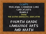 CCGPS Bundle: Tracking Common Core 4th Grade Language Arts