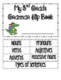 Grammar Flip Book 3rd Grade