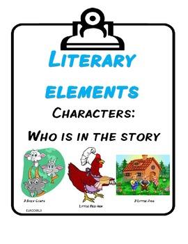 CCGPS Literary Elements for Kindergarten