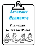 CCGPS Literary Elements for Kindergarten