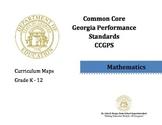 CCGPS Math Curriculum Map for K-8