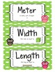 CCLS Math Word Wall Singapore 2013 Math in Focus® Owls