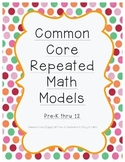 CCLS Repeated Math Models Posters