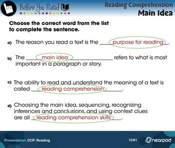CCP: Reading
