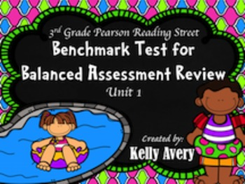 3rd Grade Reading Street Unit 1 Balanced Assessment Review
