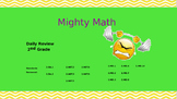 CCRS 2nd grade Mighty Math Review