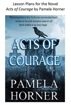 CCRS Lessons for the novel Acts of Courage