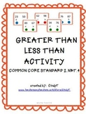CCS 2.NBT.4  Teaching Help--Greater Than Less Than Activity