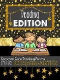 CCS Data Tracking: Kindergarten Reading Edition