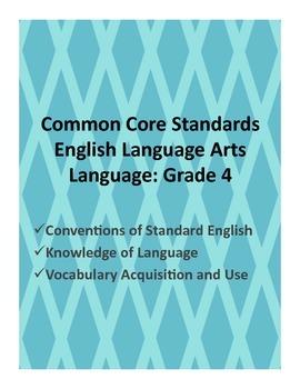 CCS ELA: Grade 4 Notebook