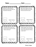 CCSS Word Problems-Illustrate, write equations, and solve