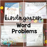 Word Problems for Kindergarten K.OA.A.2, 1.OA.A.2