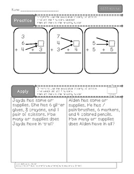 CCSS 1.OA.B.3 Practice and AssessPack