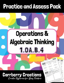 CCSS 1.OA.B.4 Practice and Assess Pack
