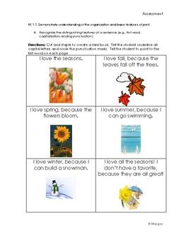 CCSS 1st Grade Reading Foundation Skills Assessments