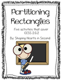 CCSS 2.G.2 Partitioning Rectangles